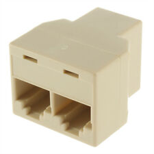 RJ45 CAT 5 LAN Ethernet Splitter Connector Adapter-UK Venditore