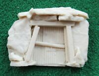 Abandoned boarded up mine entrance/adit - OO/HO Gauge/1:76 scale - unpainted