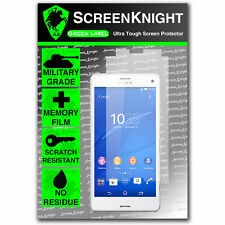 ScreenKnight Sony Xperia Z3 Compact FRONT SCREEN PROTECTOR military shield