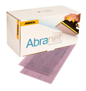 Mirka Abranet Strips 70 x 125mm Box 50 * ALL GRITS *