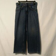 Levi Strauss Signature Kid's Size 6 Reg Relaxed Jeans med wash Adjustable waist
