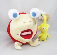 "10"" Bulborb Chappy Pikmin and Yellow Flower Plush Toy Adorable Doll Set of 2"