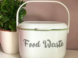 Food Waste Vinyl Label for Kitchen Caddy Recycling Bin inspired by Mrs Hinch