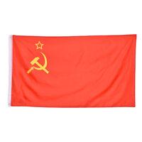 Red Revolution Union Of Soviet Socialist Republics Banner flag  Home Decor-c