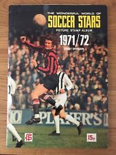 Beautiful Condition FKS World Of Soccer Stars 1971 - 1972. 71 - 72