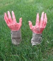 Groundbreaker Hands Grave Breaker Hands-Bloody Zombie Halloween Yard Decor