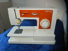 ANCIENNE MACHINE A COUDRE ORANGE MERRITT 6102 DE SINGER 1970 VINTAGE COLLECTION
