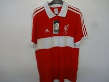 liverpool fc official adidas es polo shirt size large brand new with tags