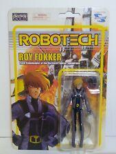 Robotech Macross Harmony Gold Toynami Roy Fokker Figure Macross Saga New Mint...