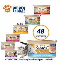 48 Scatolette Gourmet Gold 37 GUSTI A SCELTA gr. 85 cibo umido per gatto gatti