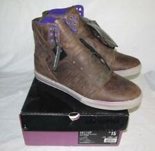 New Supra Skytop Chad Muska Pro Model Kola Distressed Brown Men's Shoes Size 15
