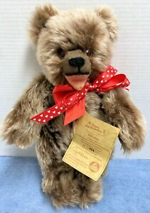 "Hermann 13"" Mohair 1960 Replica Baby Bear/Zotty Ltd. Ed. 774/1000 Open Mouth"