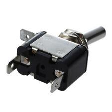 HU 12V Interrupteur Inverseur a Bascule Levier Avec LED ON-OFF SPST Auto Voiture