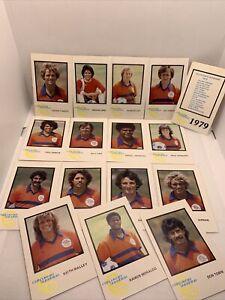 1979 Soccer California Sunshine TRADING CARD team set GARCIA,RILDO,TOBIN, Rare