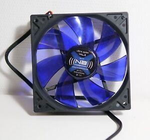 NOISEBLOCKER BLACK SILENT XL2 - 120 MM SILENT QUIET COMPUTER CASE FAN 12CM