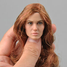 CGL TOYS T-10 1/6 Angelina Female Figure Head Sculpt Model Fit Seamless Body