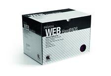 INDASA WEB HAND FINISHING PADS GREY ULTRA FINE SCOTCH BRITE ABRASIVE BOX OF 20