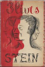 3 Lives by Gertrude Stein; Pushkin Press, London, 1946. Third Edition