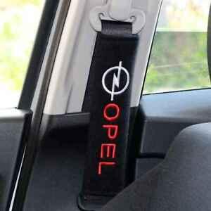 Pair Opel Seat Belt Shoulder Pad for Corsa Astra Mokka Adam