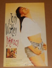 Jody Watley Intimacy Promo 1993 Original Poster 30x18