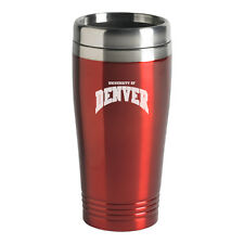 University of Denver - 16-ounce Travel Mug Tumbler - Red