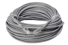 8X FLIR LOREX 60 ft. Cat 5E 4P Gray In-Wall Rated LNB8005 Cable OEM FREE SHIP
