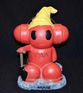 Nova Fm Radio Mascot Statue Rare Find Bzirk Marketing 26cm