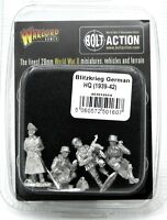 Bolt Action 403012014 Blitzkrieg German HQ (1939-42) Early War WWII Command NIB