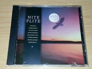 NITE FLITE CD 1988 GEORGE BENSON ANITA BAKER THE JACKSONS ATLANTIC STARR.