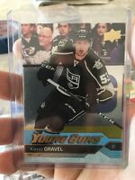 2016-17 Upper Deck #474 Kevin Gravel YG RC Young Guns Silver Foil Epack Excl