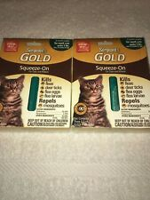 2-Sergeant's Gold Squeeze-On For Cats and Kittens: 6 Month Supply For Small Cats