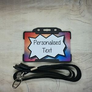 Personalised Hidden Disability Awareness ID Card Badge add your own text