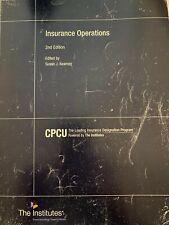 CPCU 520 Insurance Operations
