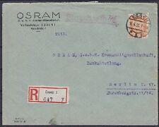 Dr im nº 361 EF firmeen R-carta comida Osram GmbH-Berlín Osram GmbH 1927