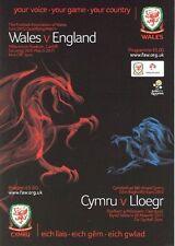 Championship Football International Fixture Programmes