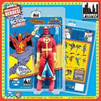 DC Comics Super Powers RED TORNADO retro 8 Inch Figure Fist Fighting Action new!