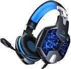 Cuffie da Gioco con Microfono e Controllo del Volume per PS4 Xbox e PC da Gaming