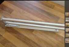 ALUMINIUM  KITCHEN TELESCOPIC TOWEL RAIL,  2 RAILS,