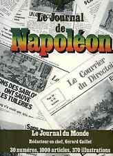 Le journal de Napoléon par Gérard Caillet