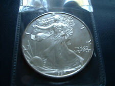1997 American 0.999 Fine Silver Uncirculated Eagle Business Strike