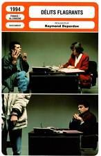 DELITS FLAGRANTS - Raymond Depardon (Fiche Cinéma) 1994 - Caught in the Acts