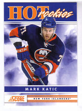 MARK KATIC - 2011/12 SCORE - ROOKIE CARD - NEW YORK ISLANDERS