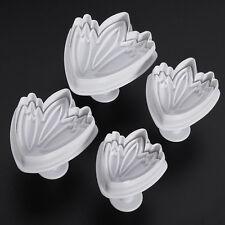 4 Moules Gateaux Emportes Pieces Cake design Pate à Sucre & d'Amande