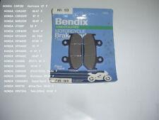 HONDA CBR600 VFR400 VT250F BRAKE PADS BENDIX MA93
