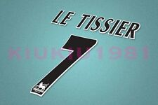 Southampton Le Tisser #7 PREMIER LEAGUE 97-06 White Name/Number Set