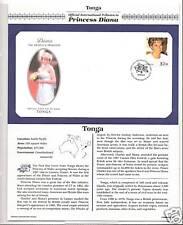 TONGA PRINCESS DIANA MEMORIAL First Day Cover (2769)