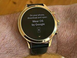 Michael Kors Access Runway Gen 4 Rose Gold With Rubber Strap Smart Watch MKT5053