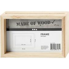 Pine Wood Double Sided Frame With Glass Mirrors Decoration Materials Christmas