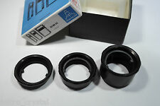 M42 macro makro extender extension lens rings several sizes anillas macro black