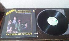 LP VINYL LA REVOLUCION DE EMILIANO ZAPATA.- LA FUERZA DE TU AMOR LOS BUKIS BRONC